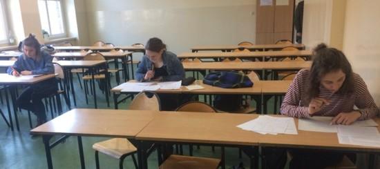 Uczniowie LO nr 2 w Gliwicach