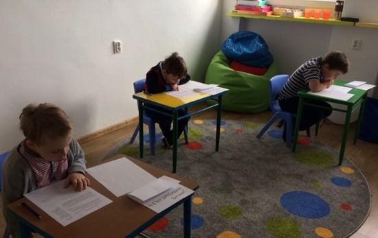 Wychowankowie Przedszkola nr 9 w Tarnowskich Górach