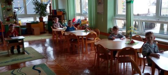 Wychowankowie Publicznego Przedszkola w Niedomicach