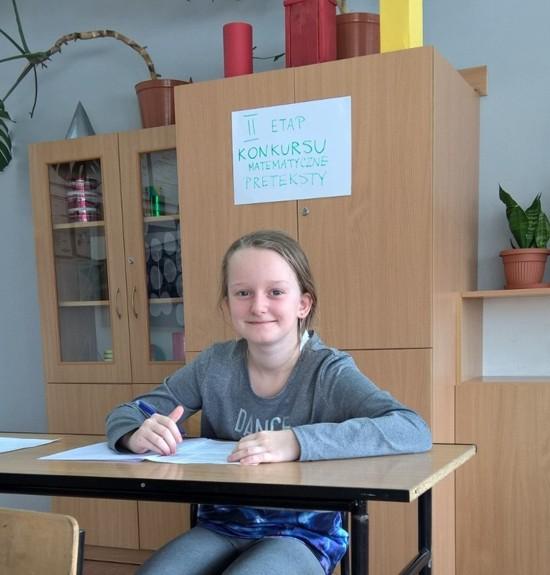 Uczniowie SP w Łapszach Niżnych