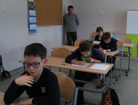 Uczniowie KSP w Krakowie