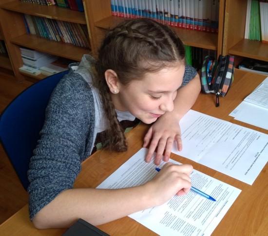 II etap konkursu w Szkole Podstawowej w Szczucinie.