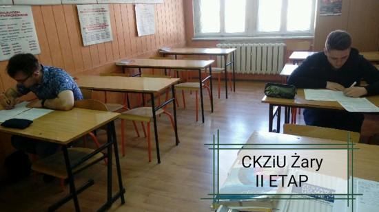 Uczniowie CKZiU w Żarach