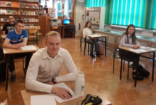 II etap VI edycji Konkursu Matematyczne Preteksty w I LO w Jaworznie