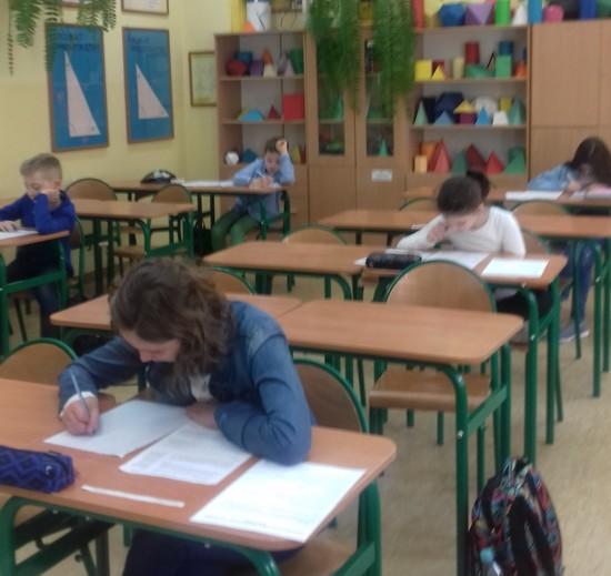 Uczniowie PSP w Belsku Dużym