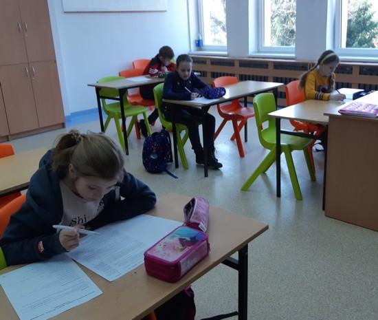 Uczniowie PSP w Lekowie