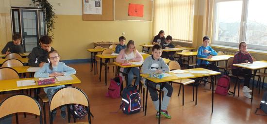 Uczniowie SP nr 11 w Nowym Targu
