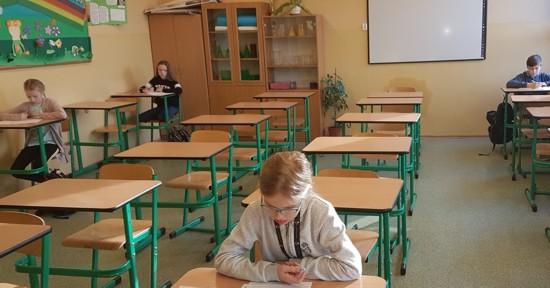Uczniowie SP nr 18 w Jastrzębiu-Zdroju