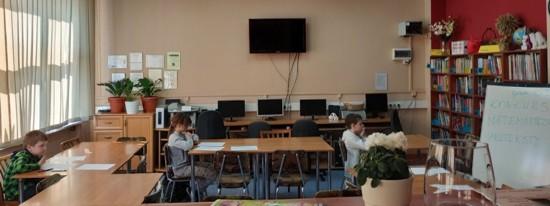 Uczniowie SP nr 6 w Głogowie
