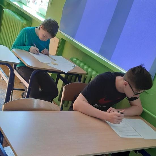 Uczniowie SP nr 8 we Wrocławiu