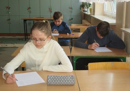 Uczniowie SP w Miedznie
