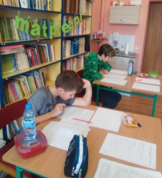 Uczniowie SP w Trzemiętowie
