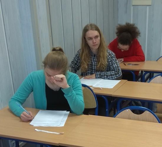 Uczniowie X LO w Gdyni