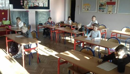 Uczniowie ZS w Jasienicy